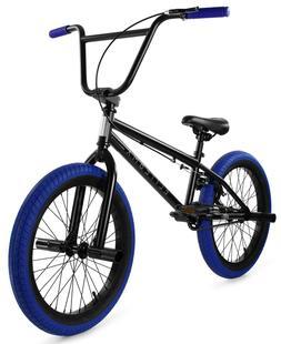 "Elite 20"" BMX Stealth Bicycle Freestyle Bike 1 Piece Crank B"