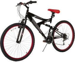 "Dynacraft Men's 26"" 21 Speed Equator Bike, 18""/One Size, Bla"