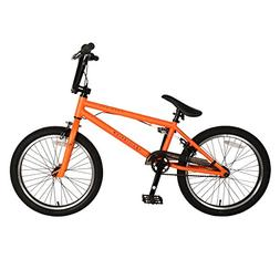 KHE Bikes Equilibrium 3 BMX Bicycle, Matte Orange,