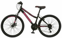 Mongoose Excursion Mountain Bike, 24-inch wheel, 21 speeds,