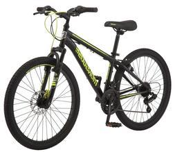 """🔥 Mongoose Excursion Mountain Bike, Boys', 24"""", Black, As"""