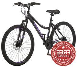 Mongoose Excursion Women Mountain Bike 26-inch 21 Speed Purp