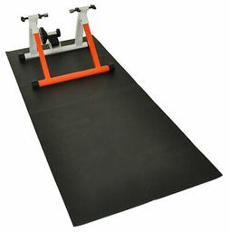Exercise & Bike Trainer Equipment Mat Protects Floor From Sc
