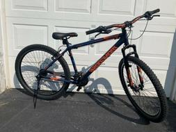 "Mongoose Exhibit 29"" in Men's Mountain Bike BLUE NEW Fully"