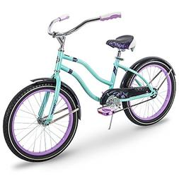 8fcbdb2d883 Huffy Kids Cruiser Bike for Girls, Fairmont 20 inch, Teal