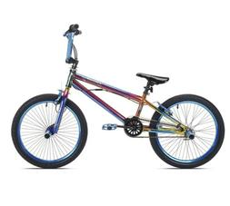 20 in. Kent Fantasy Girls Bike Blue Toys Kids Bikes Riding
