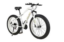 Fat Bike 26Inch 21Speed Sand,Snow Mountain Bike 4.0 Fat Tyre