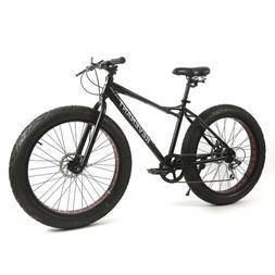 Fat Tire Bike 26''Men's Dolomite Fat Tire Mountain Bike Blac