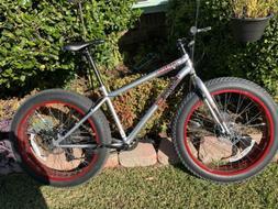 mongoose fat tire bike 26
