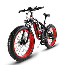 Cyrusher Fat Tire Electric Bike 1000W Snow E-Bike Beach Crui