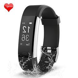 Fitness Tracker, Waterproof Activity Tracker Heart Rate Moni