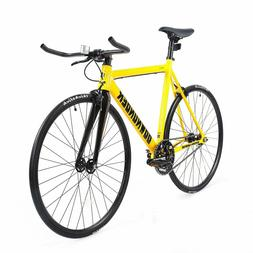 700C Fixie Road Bike Fixed Gear Bike Single Speed Carbon Fib