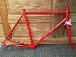 Emblem Fixed Gear Bikes FRAME ONLY  .painted the color you p