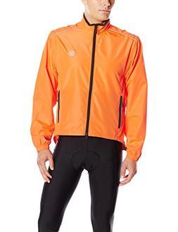 Canari Men's Solar Flare Elite Jacket, Solar Orange, X-Large