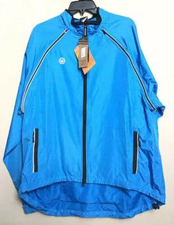 Canari Men's Flash Transition Jacket, Azure Blue, XX-Large