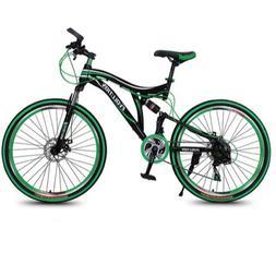 Flexible Tail <font><b>Wheel</b></font> Mountain Bicycle <fo