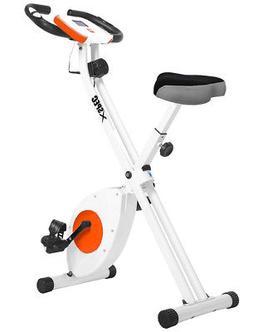Xspec Foldable Stationary Upright Exercise Bike Cardio Worko