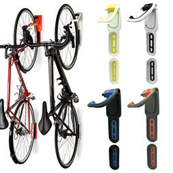 Reliancer 2 Pack Foldable Vertical Bike Rack Wall