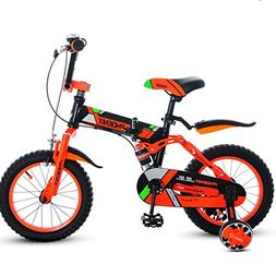 Children's Folding Bike 14/16/18 Inch Boy Cycling Girl 3-12