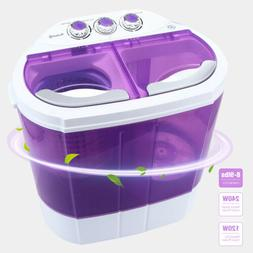 10 LBS Portable Mini Washing Machine Compact Twin Tub Washer