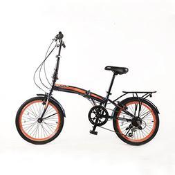 """ZOYO 20"""" Folding Bikes 7Speed Shimano Gears 20-inch Folding"""