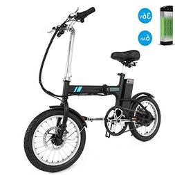 Unisex Folding Electric Bicycle/E-Bike/Scooter, Anti-shock 2