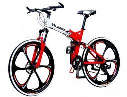 folding mountain bike mtb shimano 21 speed