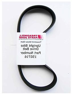 TreadmillPartsZone Replacement for Pro Form Model 218132 230 U Bike Drive Belt Part 201296
