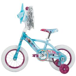 Frozen 2 Disney Huffy Bike 12 inch Ligh Blue Training Wheels