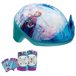 Disney Frozen Tiara Girls Skate / Bike Helmet, Pads & Gloves