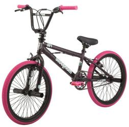Mongoose FSG BMX Bike, 20-inch wheels, single speed, black /