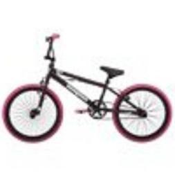 "Mongoose FSG BMX Bike, 20"" wheels, single speed, black / pin"