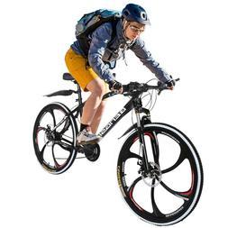 Mountain Bike Dual Suspension Shimano 21 Speed Mens Bikes MT
