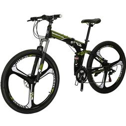 G7 Folding Mountain Bike 21 Speed Full Suspension Disc Brake