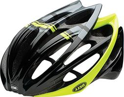 Bell Gage Bike Helmet - Black/Hi-Vis Yellow Draft Large