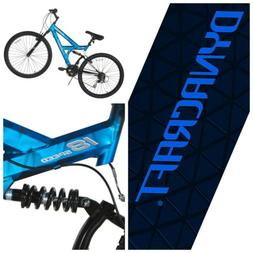 """Dynacraft Gauntlet Mountain Bike, Men's, Blue, 26"""""""