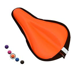 LuxoBike Gel Bike Seat Cover – Extra Soft Gel Bicycle Seat