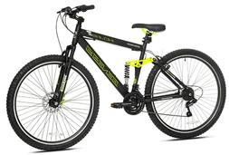 "Genesis 29"" Incline Men's Bike, Black/Yellow"