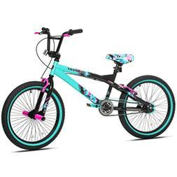 Girls Bike 20 Inch Single Speed BMX Cruiser Bicycle Front Re