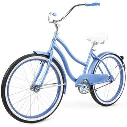 Girls Bike 24 Inch Cruiser Bicycle Huffy Perfect Fit Frame S