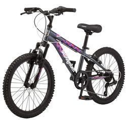 """Girls Mountain Bike Bicycle Mongoose 20"""" BMX Style Frame Kid"""