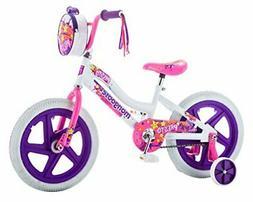 "Mongoose Girls Presto Bicycle with 16"" Wheels, White"