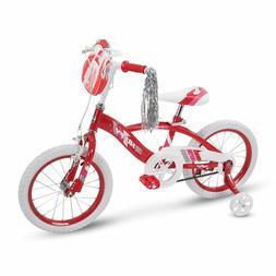 "16"" Huffy Glimmer Girls Bike, Red"
