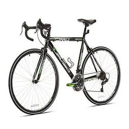 "GMC Denali Black Green 700c Road Bicycle with 25"" Frame"