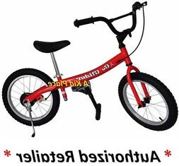 Glide Bikes Go Glider Kid's Balance Bike, Green, 16-Inch