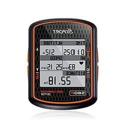 Spedal GPS Bike Computer With ANT+ Function, Wireless Backli