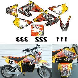 Burly Effects Graphics kit for Razor MX500 & MX650 dirt bike