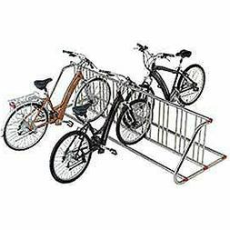 Global Industrial Grid Bike Rack, Double Sided, Powder Coate