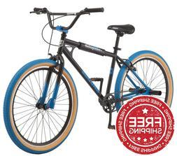 Mongoose Grudge BMX Freestyle Bike, Single Speed, 26-inch -