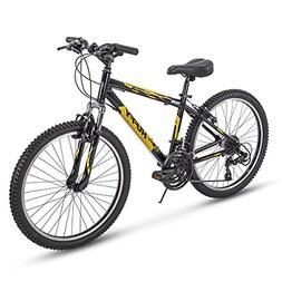 Huffy Hardtail Mountain Bike, Escalate 24-26 inch 21-Speed,